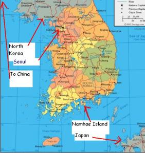 south-korea-map